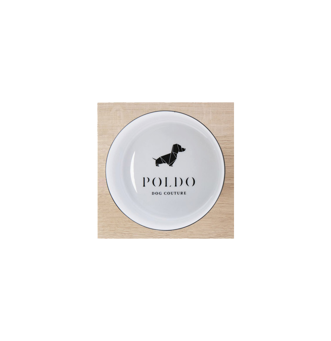 Poldo Dog Couture Bowl Set