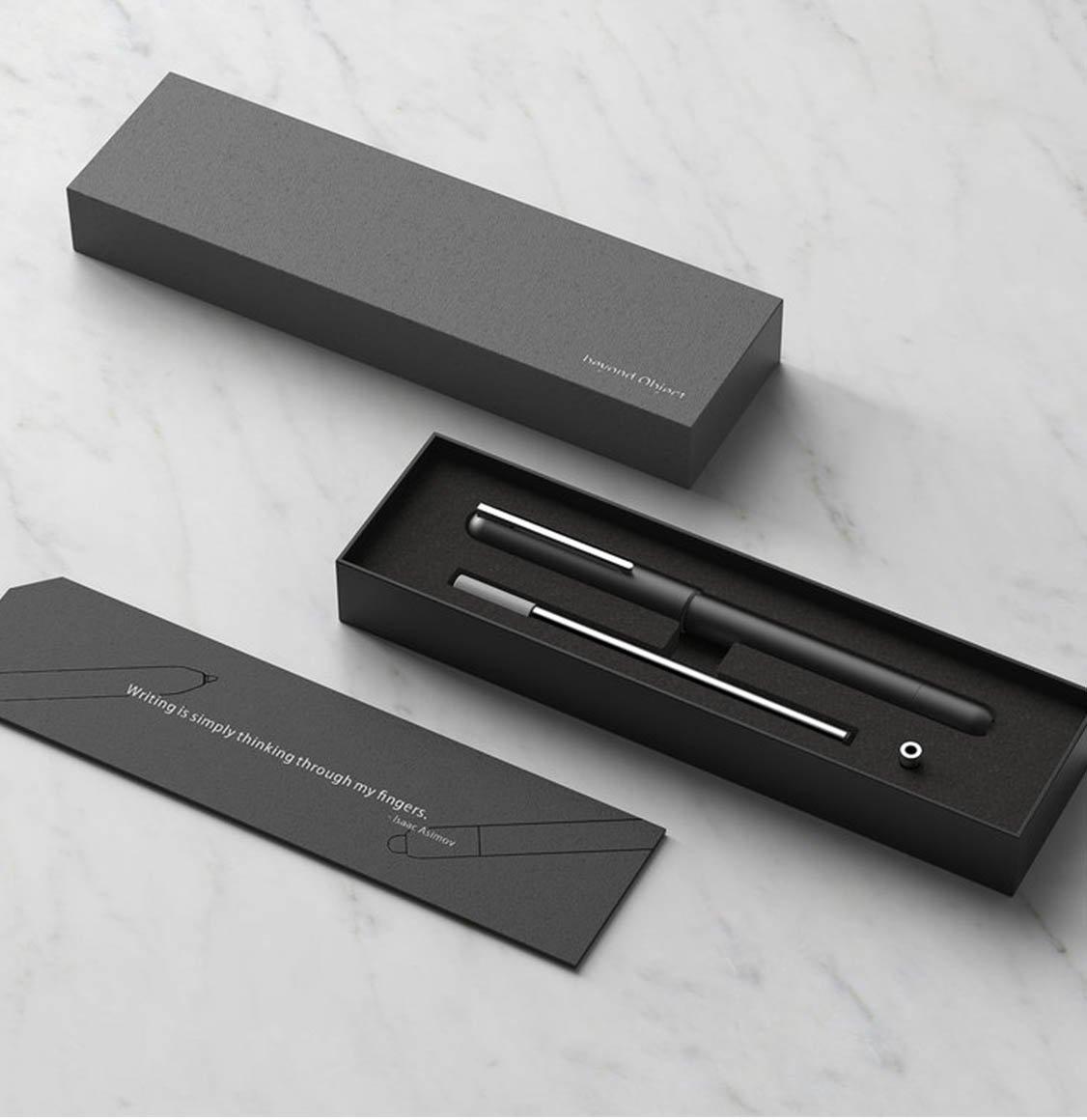 Beyond Object Dueto Dual Pen Gun Metal