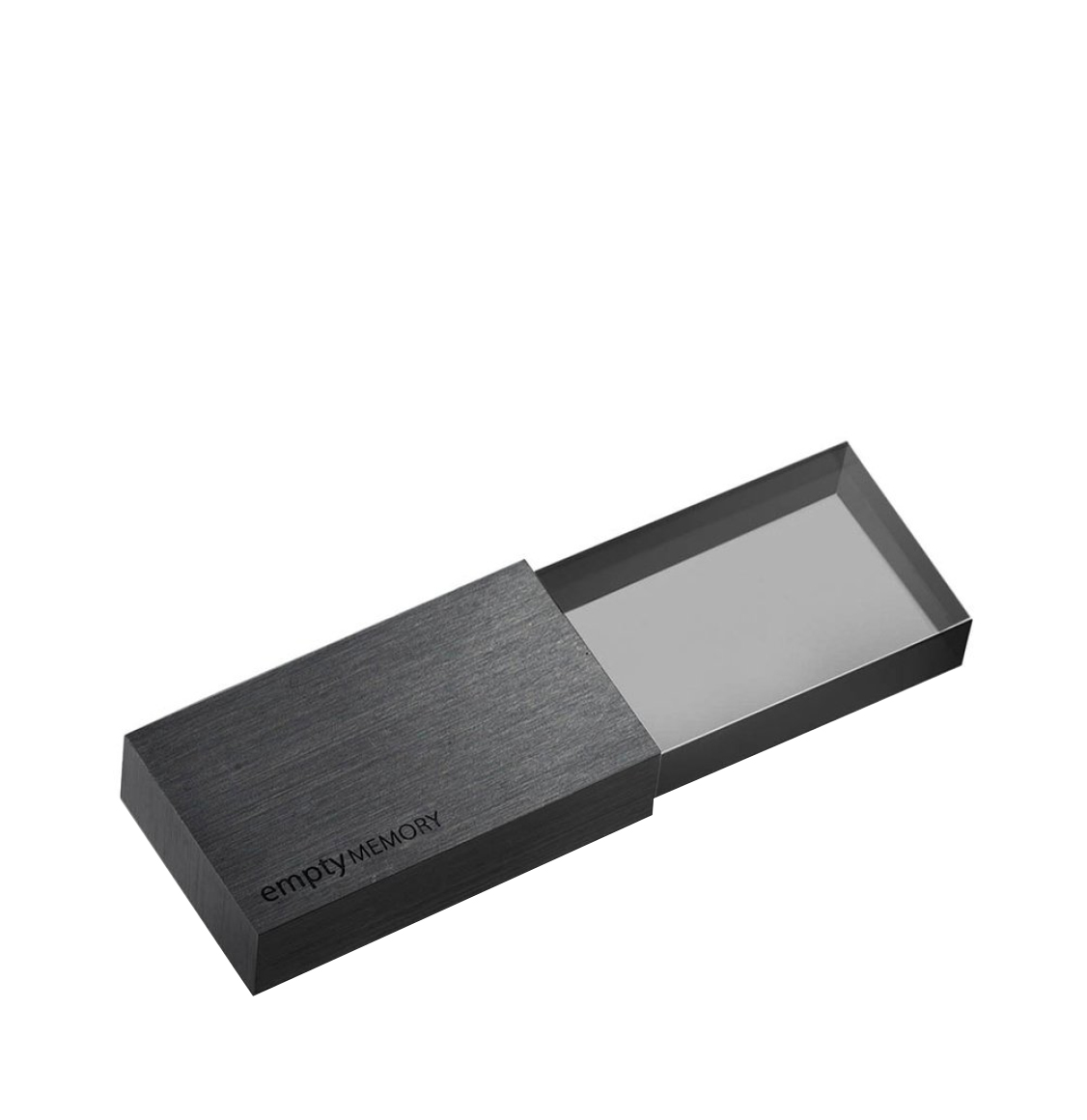 Beyond Object USB Memory Transparency Pure Black