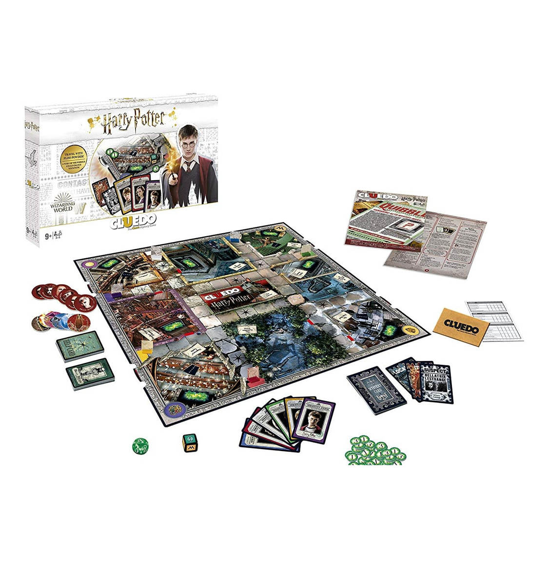 Cluedo Harry Potter English Latest Edition