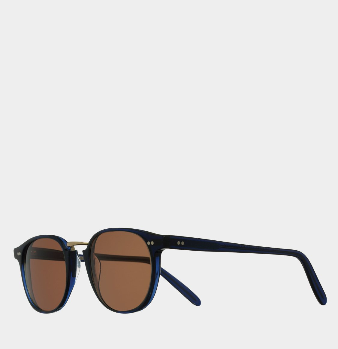 Cutler and Gross 1007 Round-Frame Classic Navy Blue Acetate 50 Γυαλιά Ηλίου