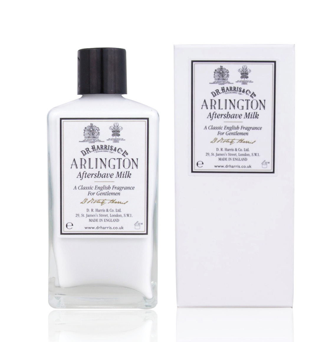 D R Harris Arlington Aftershave Milk