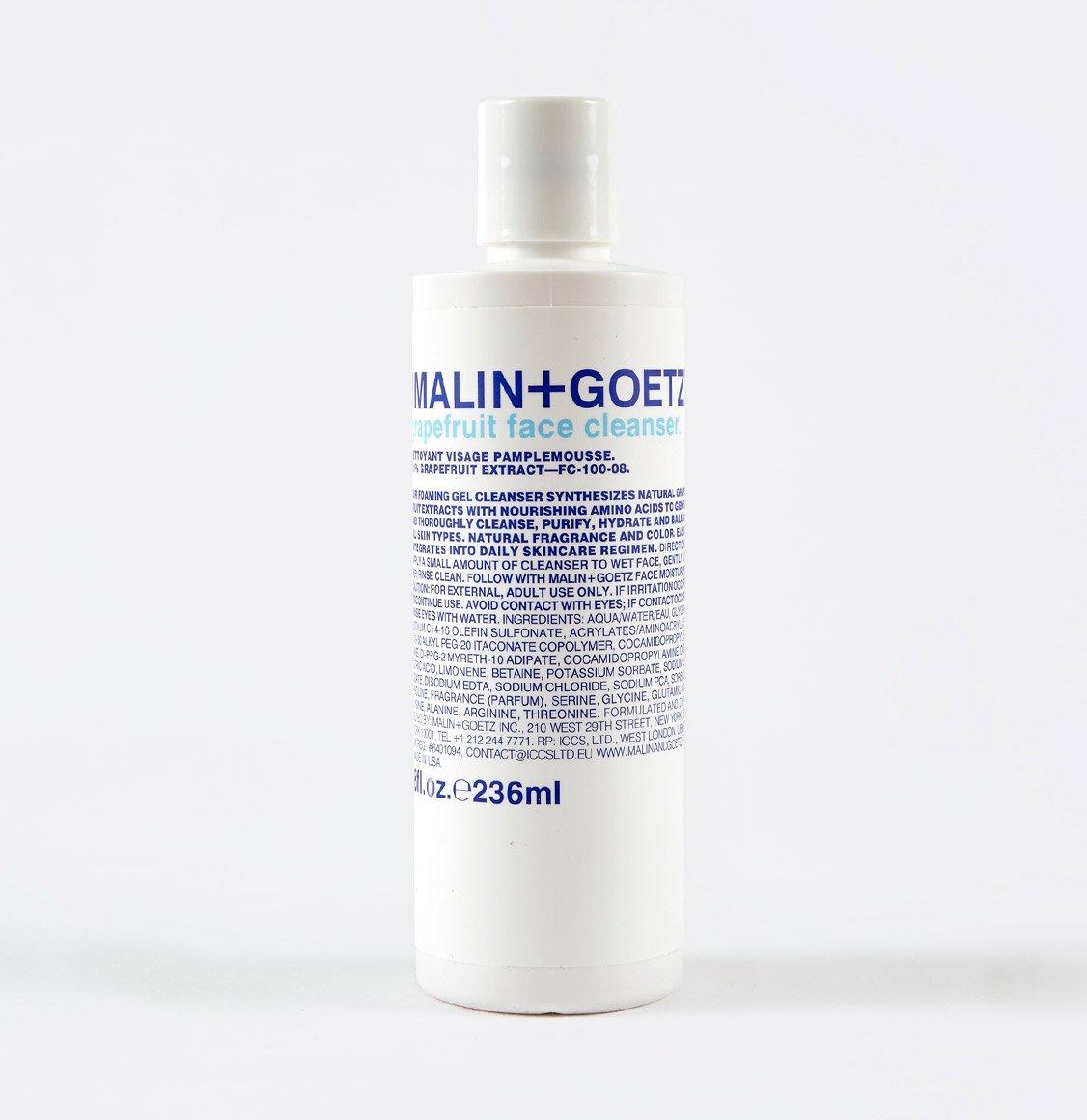Malin and Goetz Grapefruit Face Cleanser 236ml