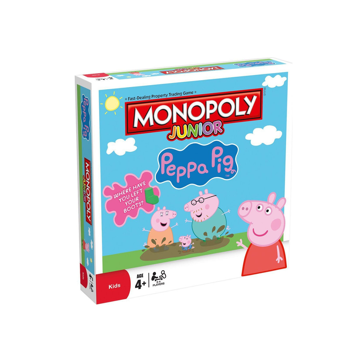 Monopoly Junior Peppa Pig English Edition