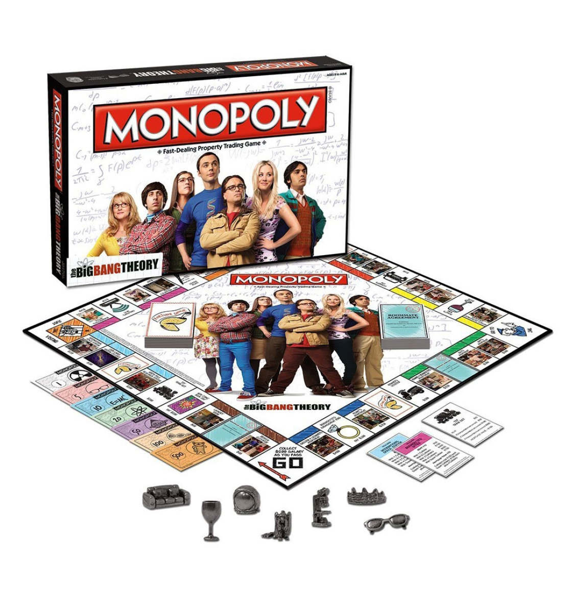 Monopoly The Big Bang Theory Winning Moves English Edition