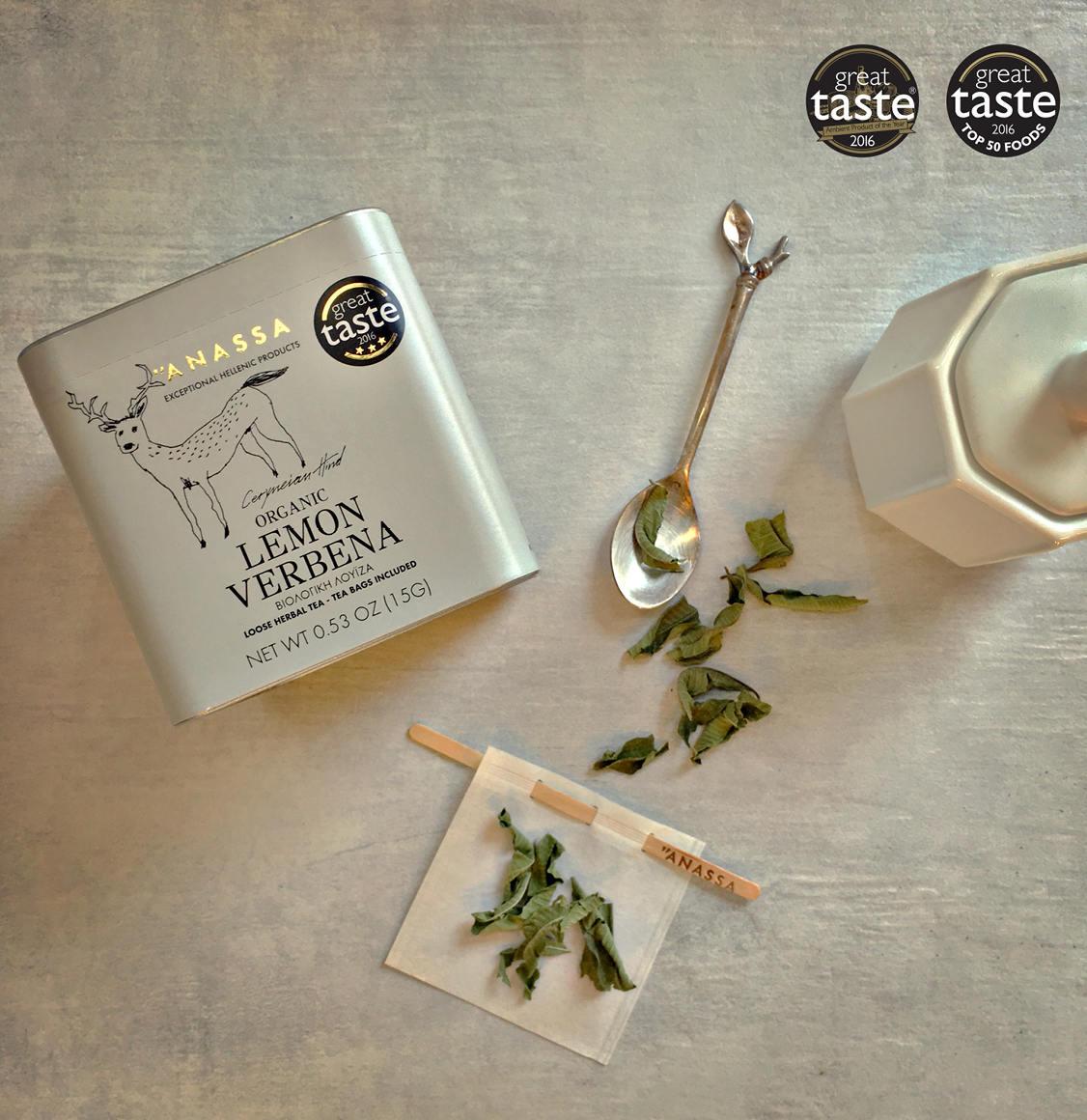 Anassa Organics Tin Βιολογική Λουίζα