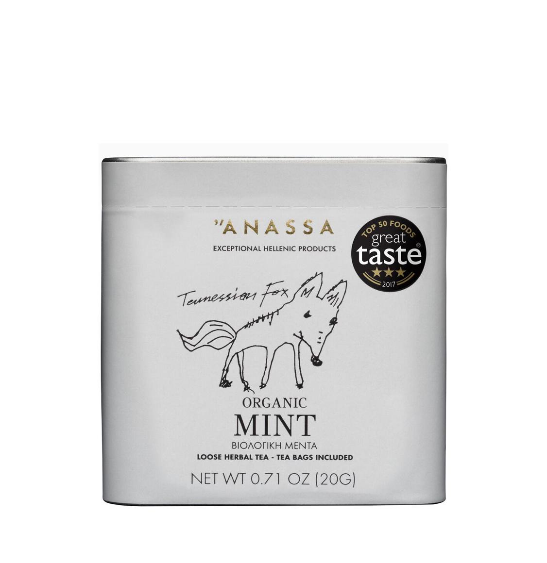 Anassa Organics Tin Βιολογική Μέντα