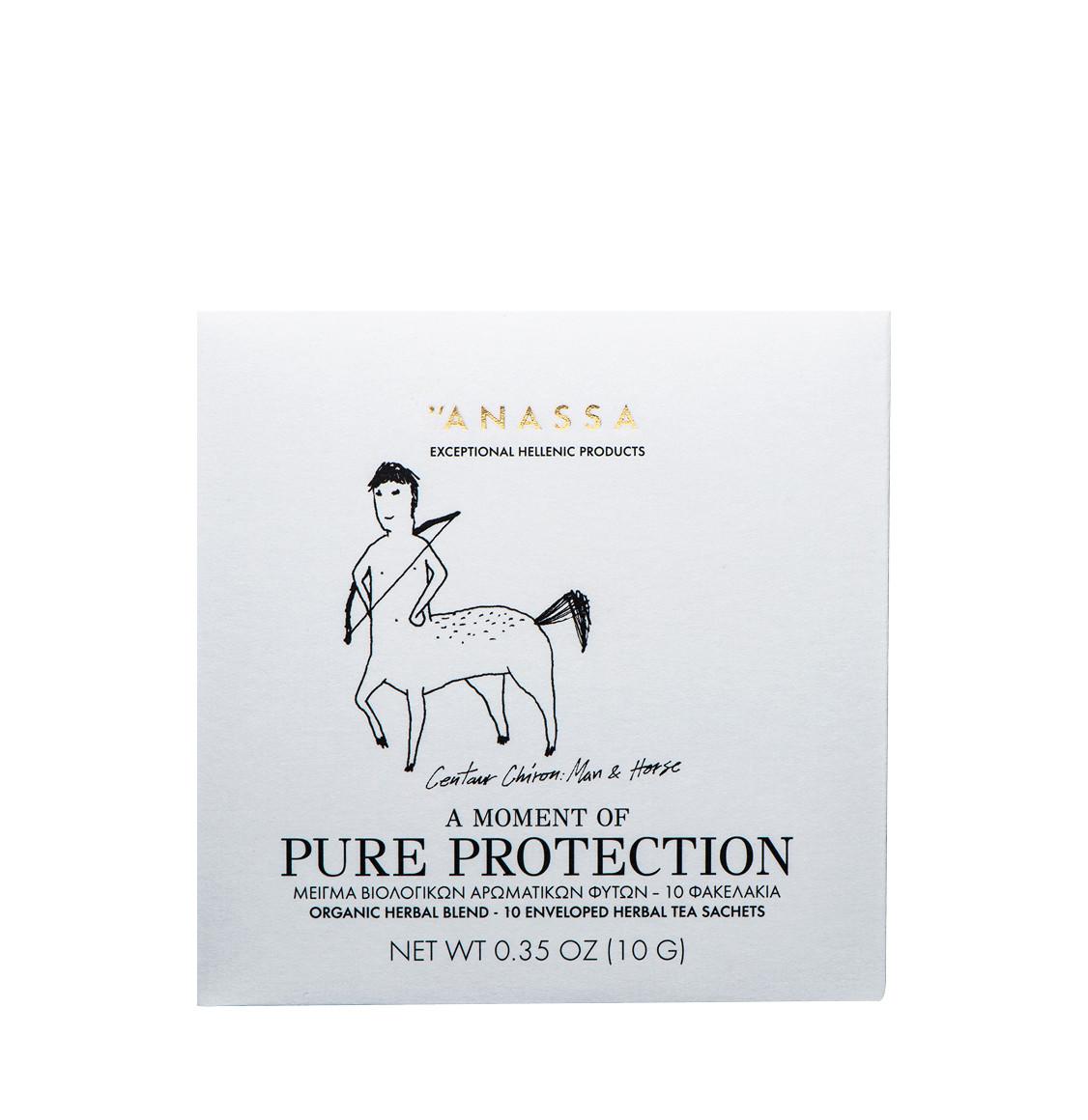 Anassa Organics Pure Protection Μείγμα Βιολογικών Βοτάνων