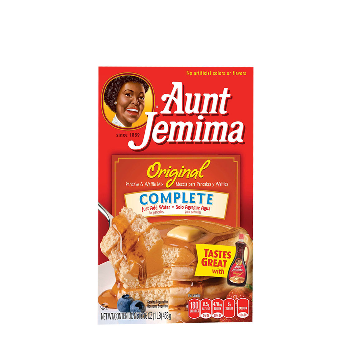 Aunt Jemima Original Pancake And Waffle Mix 453g
