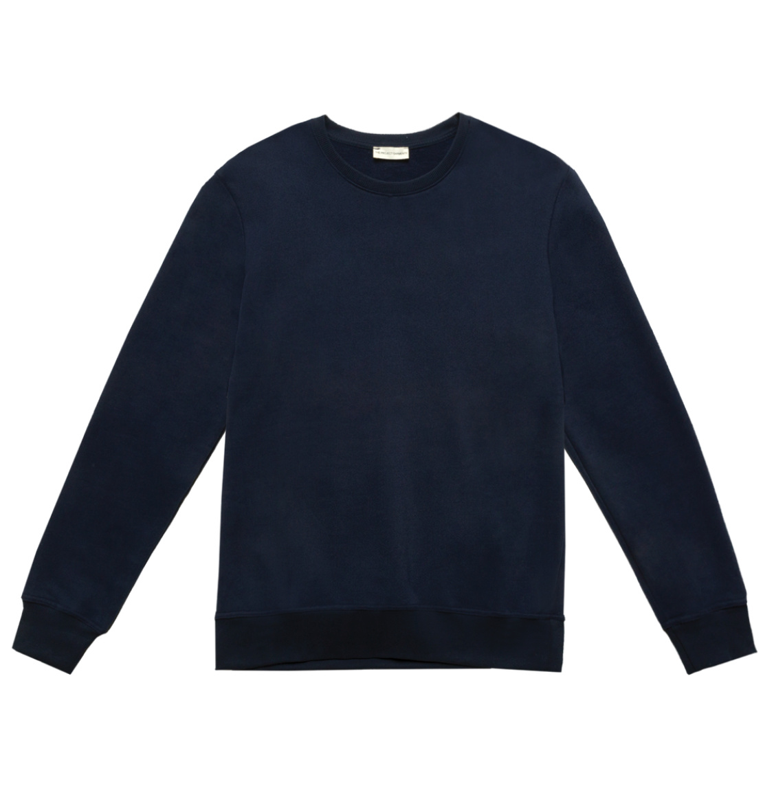 Crew Neck Sweatshirt Navy Blue