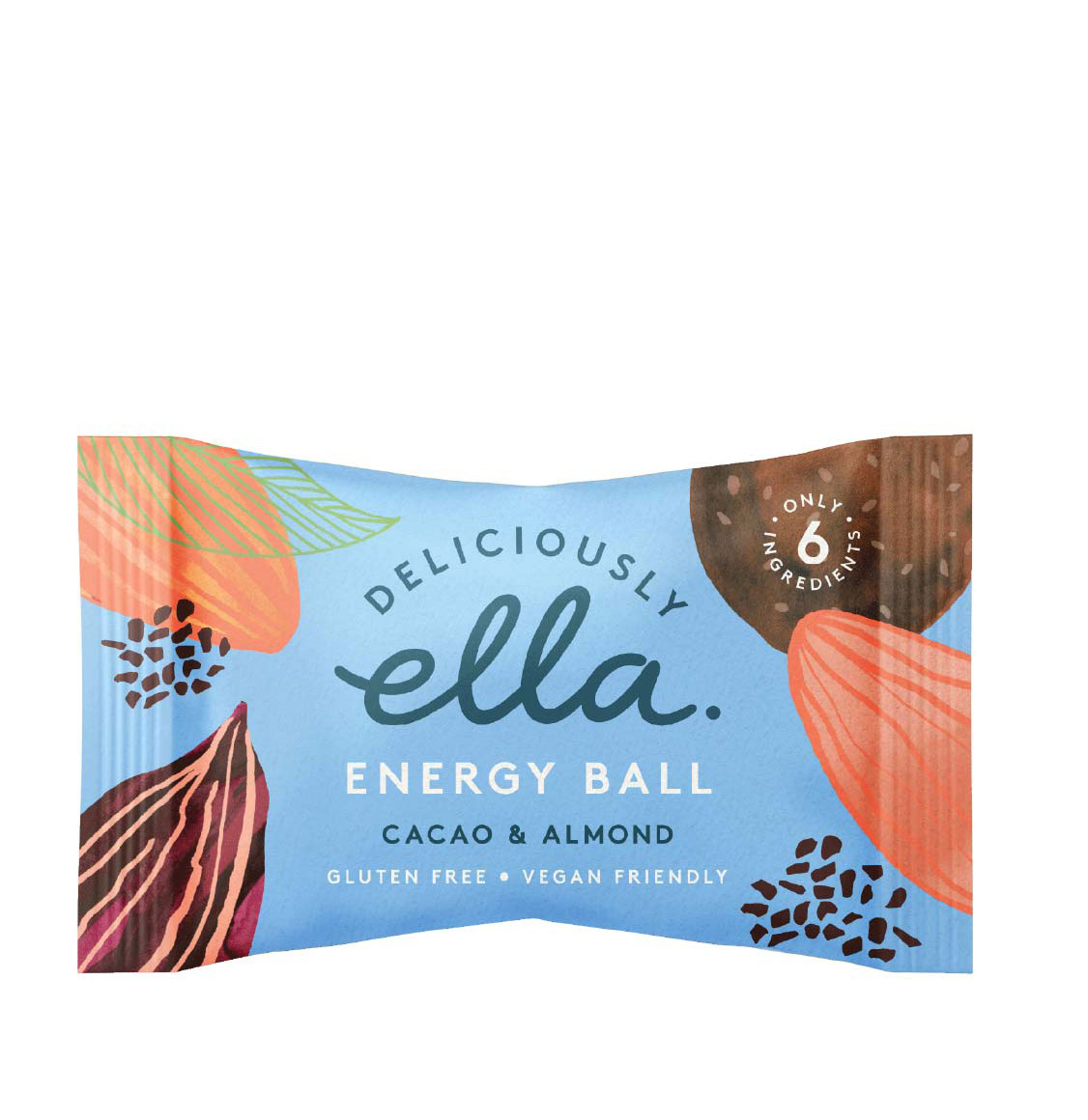 Deliciously Ella Cacao and Almond Energy Ball 4 x 40g