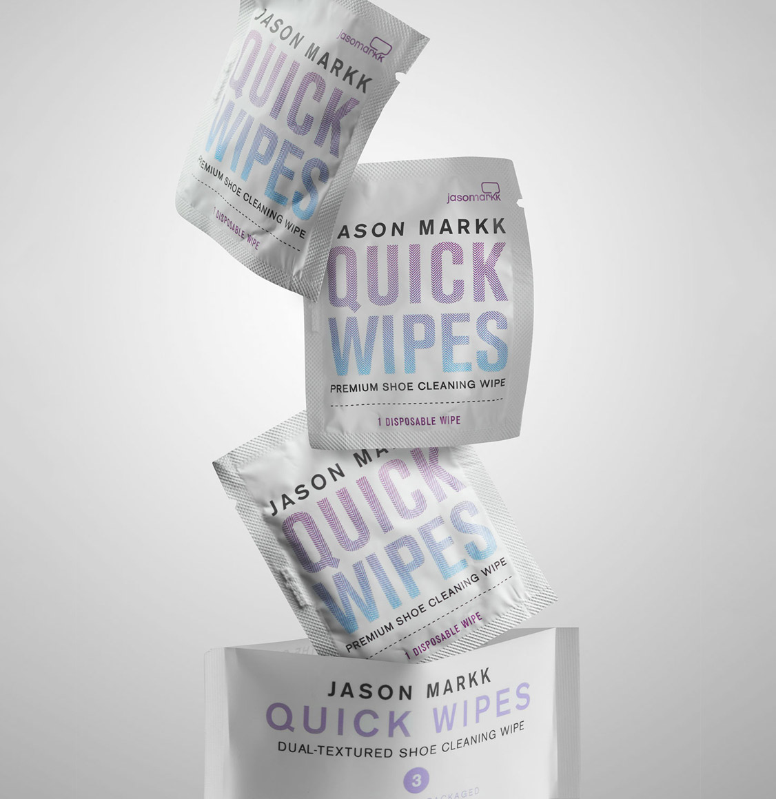 Jason Markk Pack of 3 Quick Wipes
