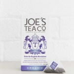Organic English Breakfast Tea Bags 15 Pyramid Bags Joe's Tea Co