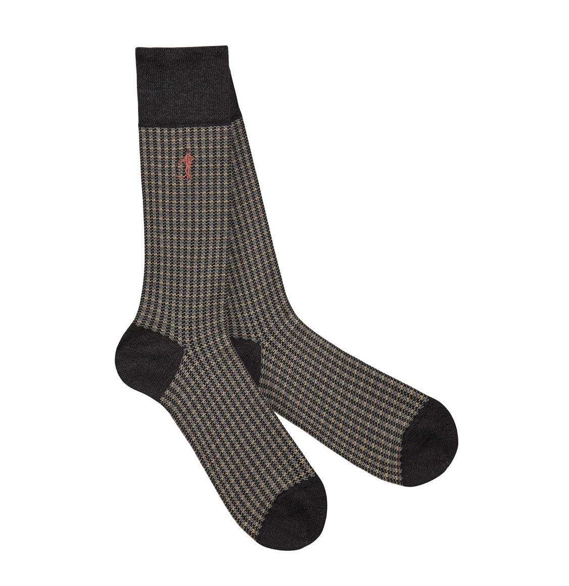 London Sock Co Shaken and Stirred Socks Espresso
