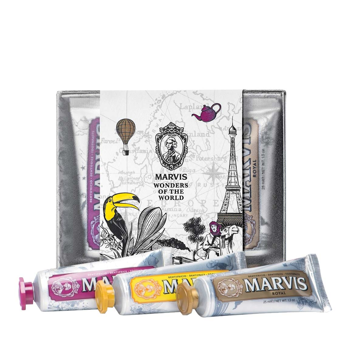 Marvis Wonders of the World Limited Edition Collection Toothpaste