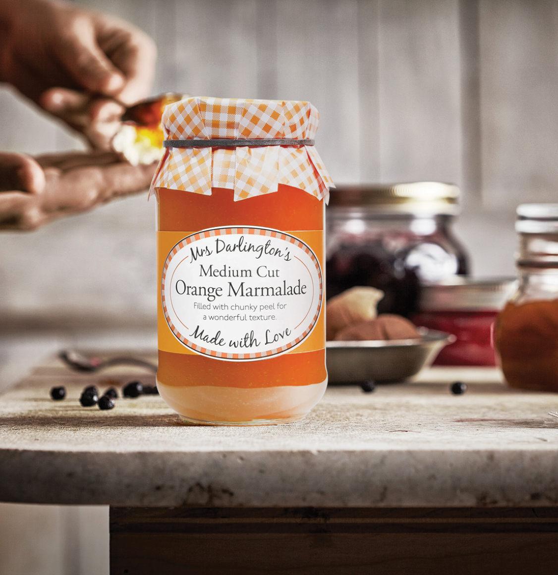 Mrs Darlington's Medium Cut Μαρμελάδα Πορτοκαλιού