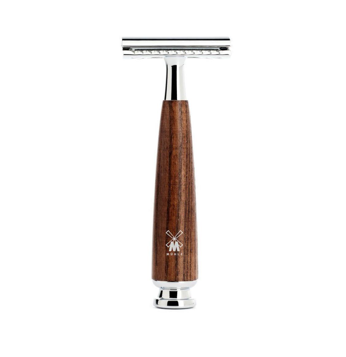 Muhle Rytmo Shaving Set Pure Badger Brush With Safety Razor and Bowl