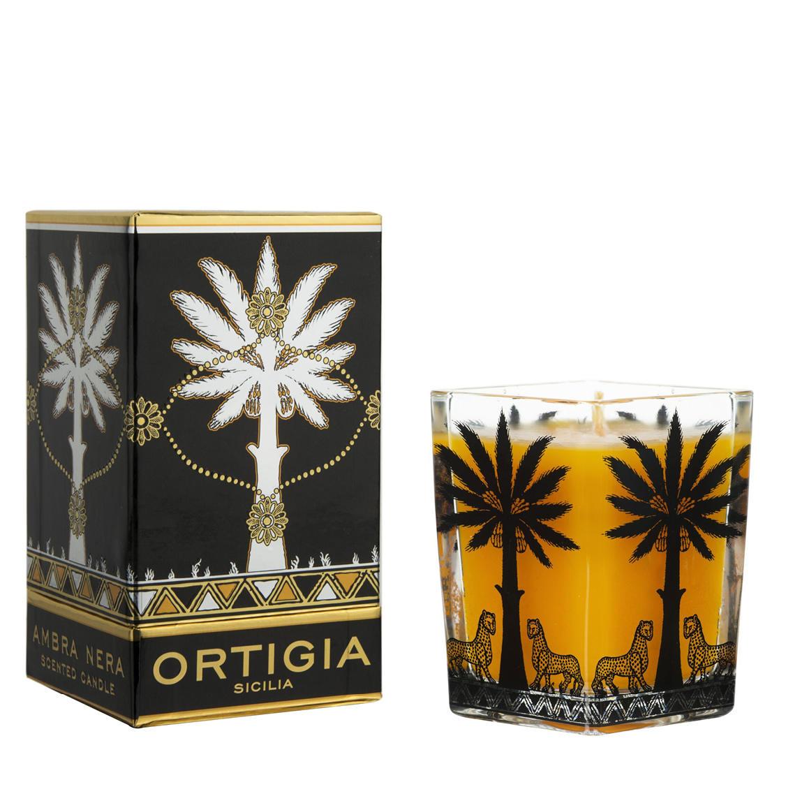 Ortigia Sicilia Ambra Nera Candle 170g