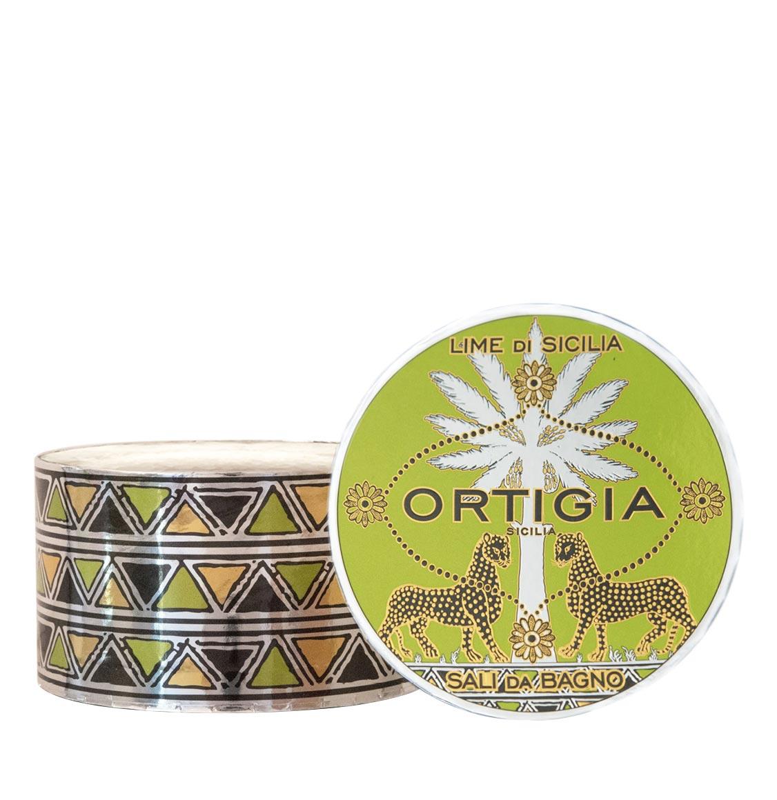 Ortigia Sicilia Lime Bath Salts 500g