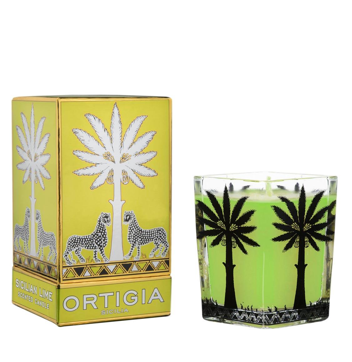 Ortigia Sicilia Lime Candle 170g