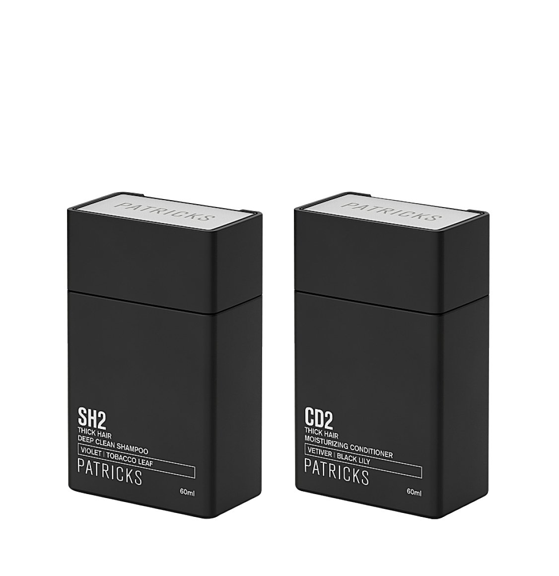 Patricks SH2 | CD2 Shampoo and Conditioner Travel Set