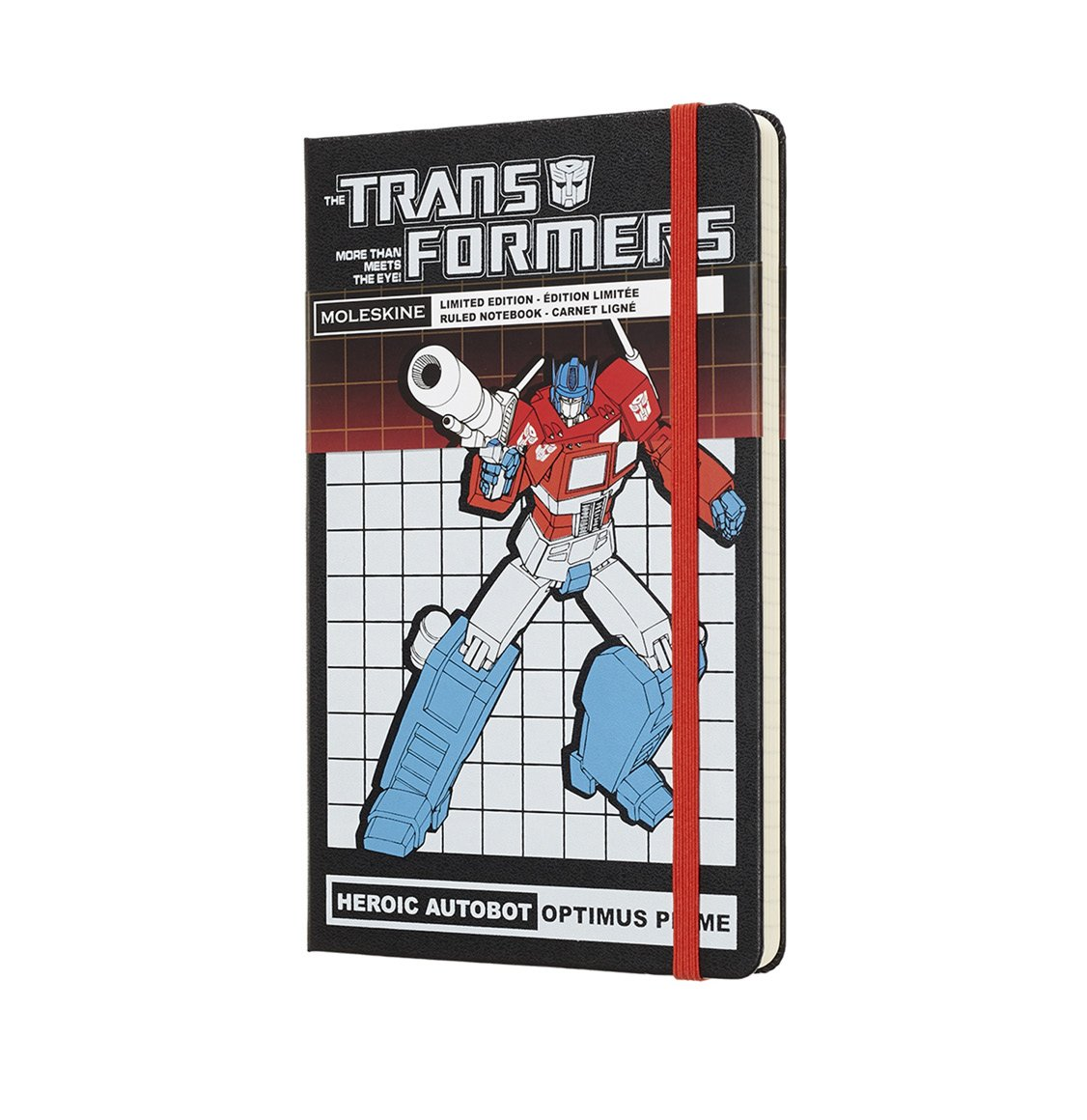Moleskine Limited Edition Large Ruled Transformers Optimus Prime