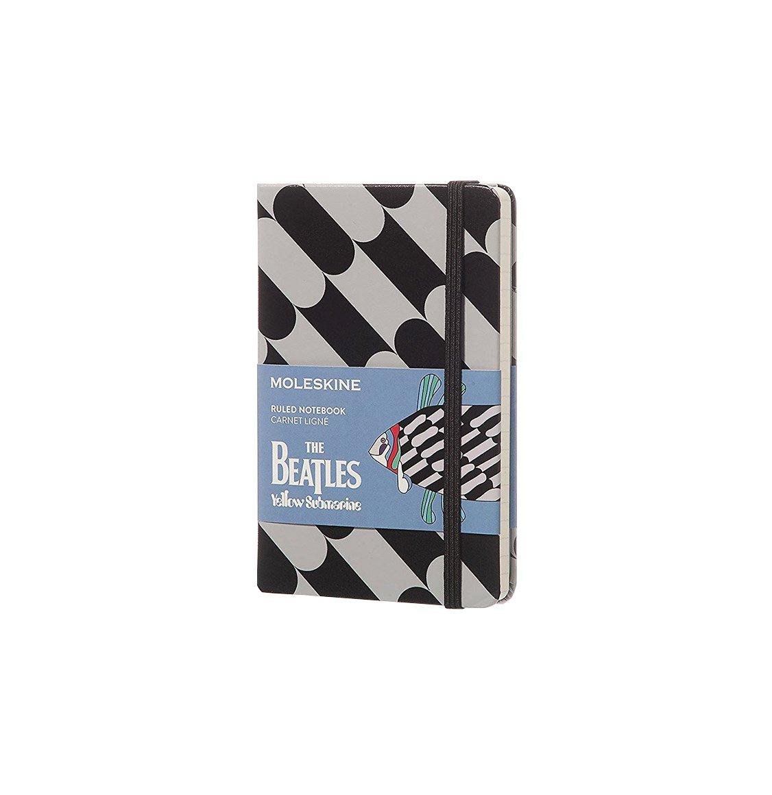 Moleskine The Beatles Limited Edition Pocket Ruled Notebook Black Fish
