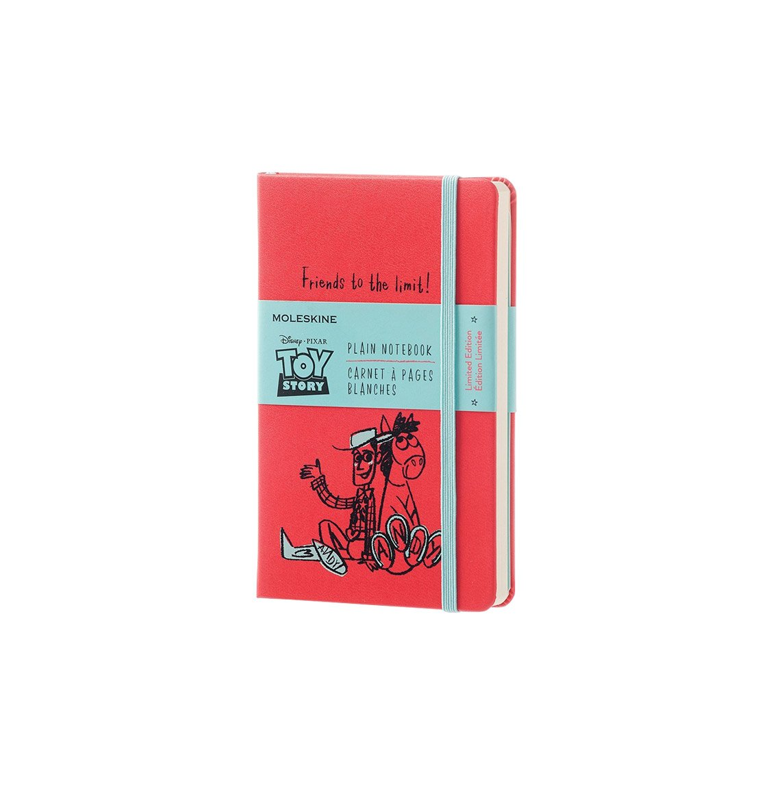 Moleskine Toy Story Limited Edition Pocket Plain Notebook Geranium Red