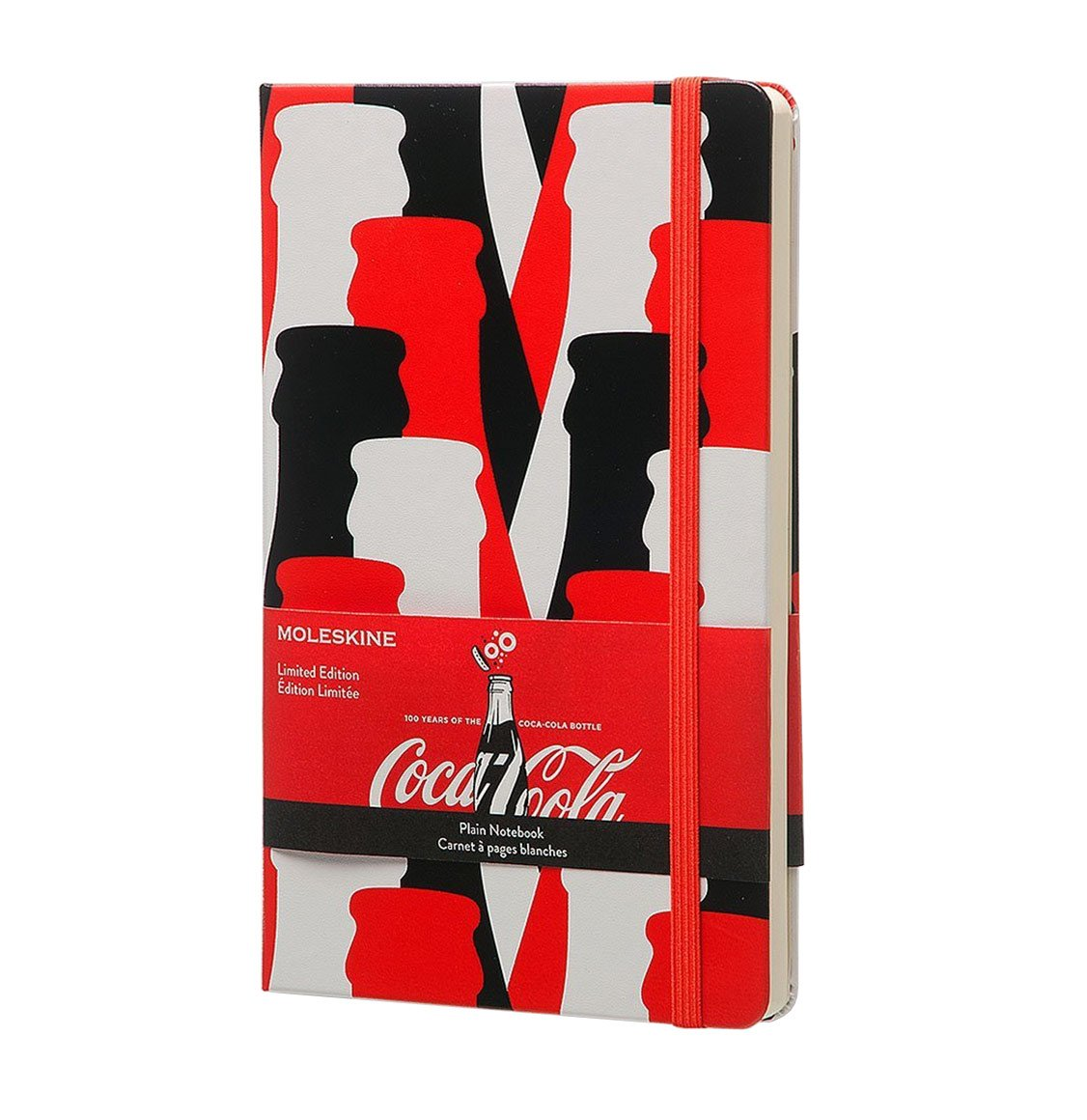 Moleskine Coca-Cola Limited Edition Large Plain Red Notebook