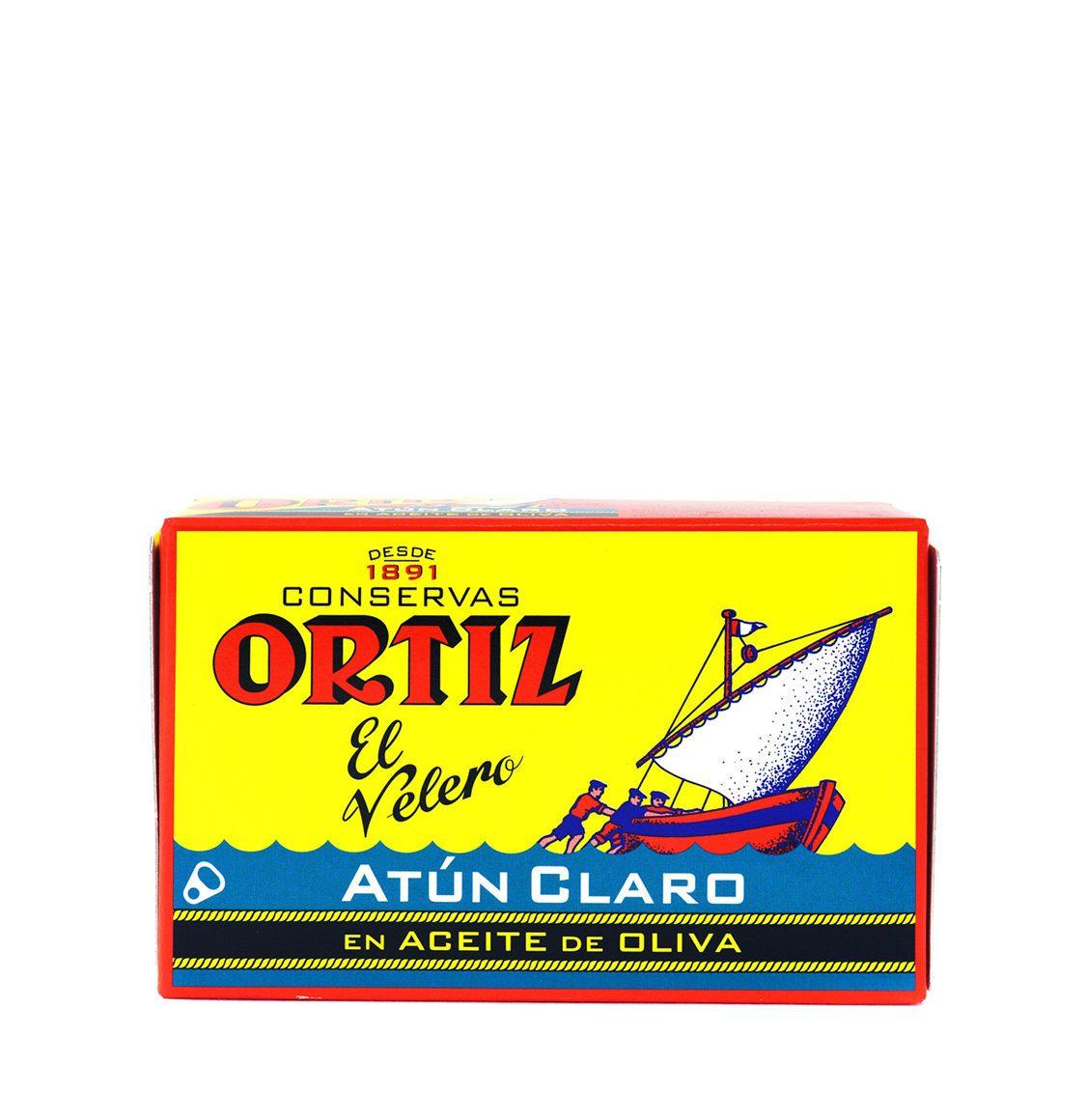 Ortiz Yellowfin Tuna In Olive Oil 112g