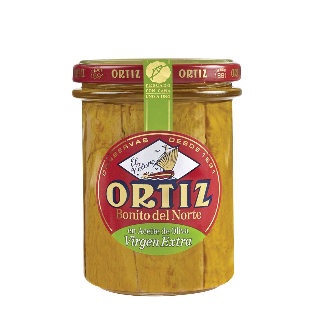 Ortiz White Tuna In Extra Virgin Olive Oil 220g