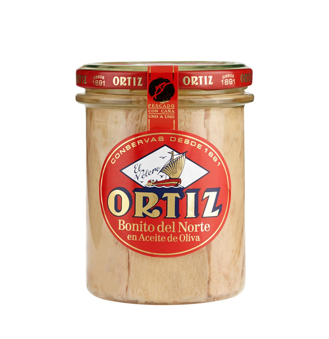 Ortiz White Tuna In Olive Oil 220g