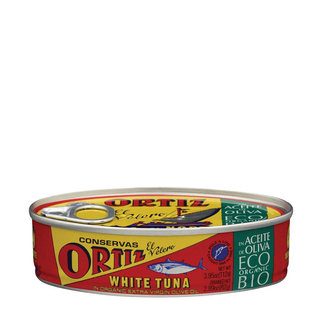 Ortiz Conservas White Tuna In Organic Olive Oil 112g