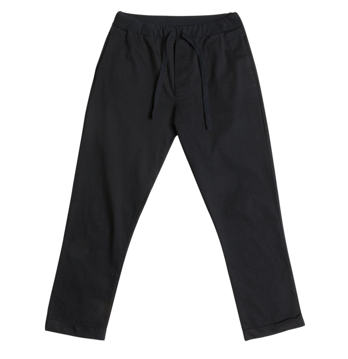 The Project Garments Stretch-Cotton Slim-Fit Drawstring Trousers Navy Blue