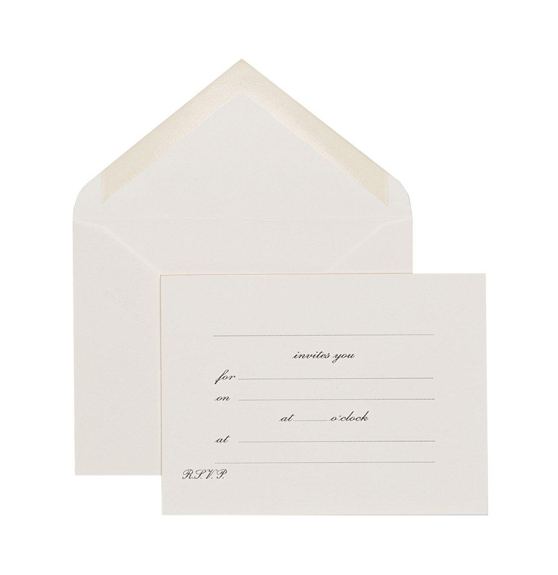 Smythson Invites You Invitation Cards