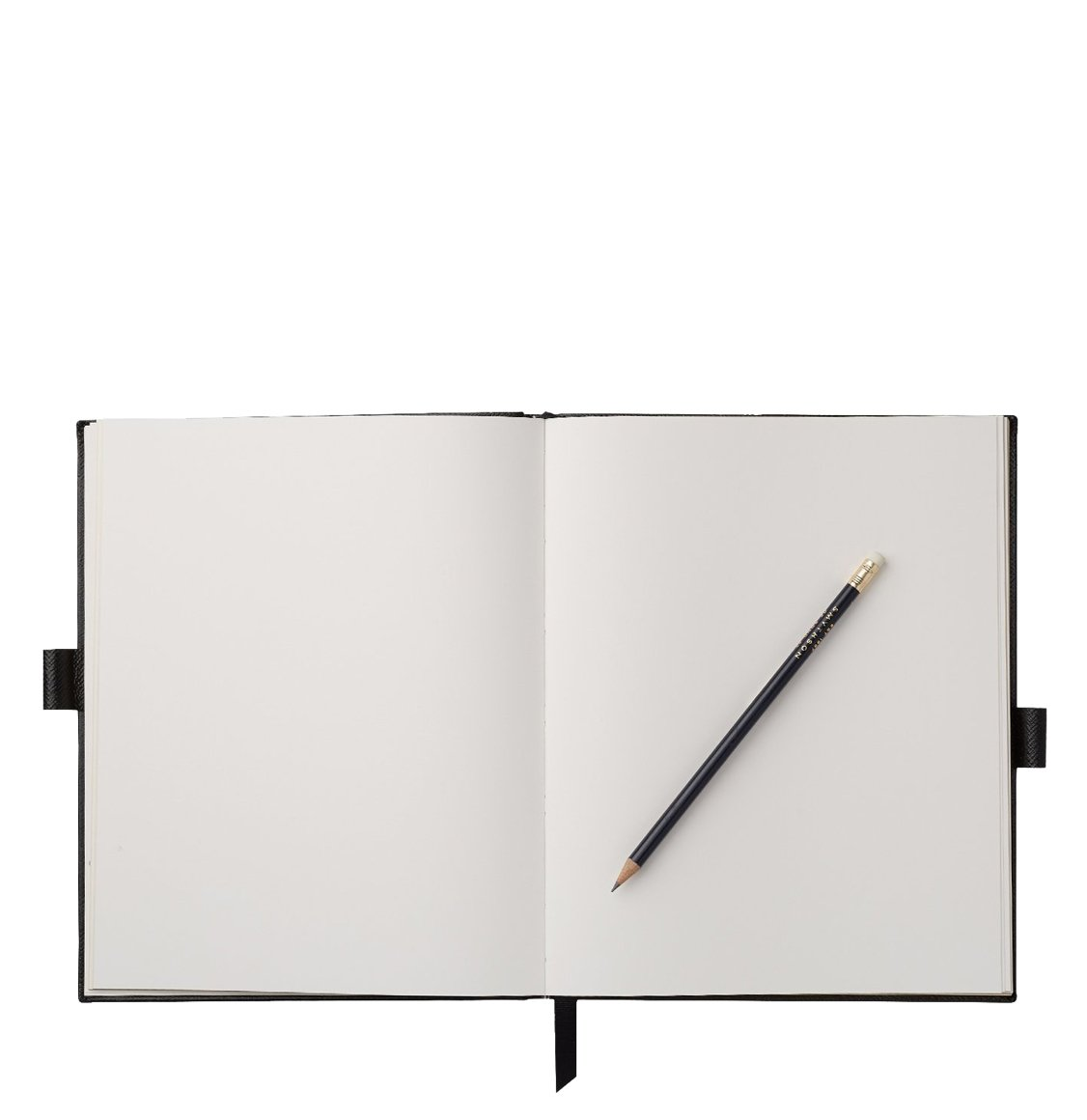Smythson Portobello Leather Sketchbook