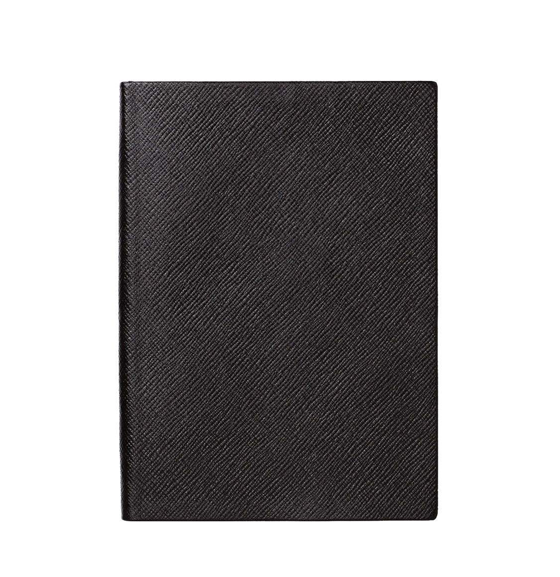 Smythson Panama Cross-Grain Leather Soho Notebook