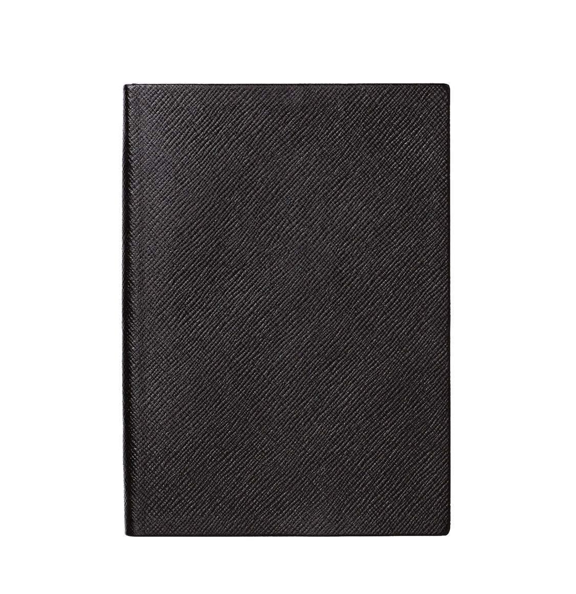 Smythson Panama Cross-Grain Leather Soho Notebook