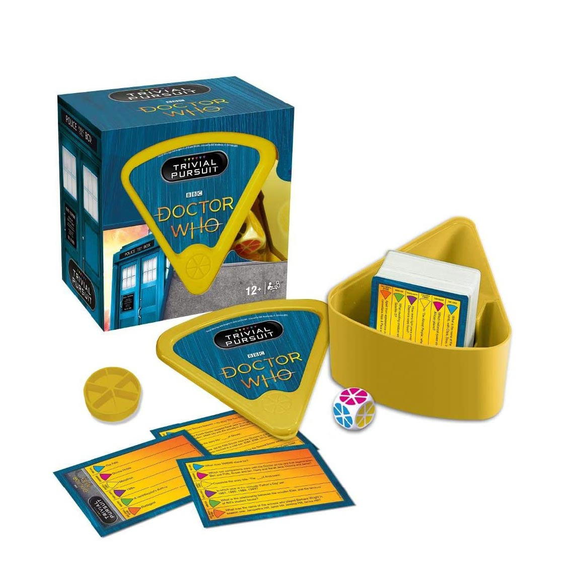 Trivial Pursuit Dr. Who Bitesize Winning Moves English Edition