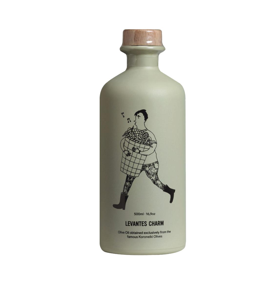 Levantes Charm Olive Oil From Koroneiki Olives 500ml