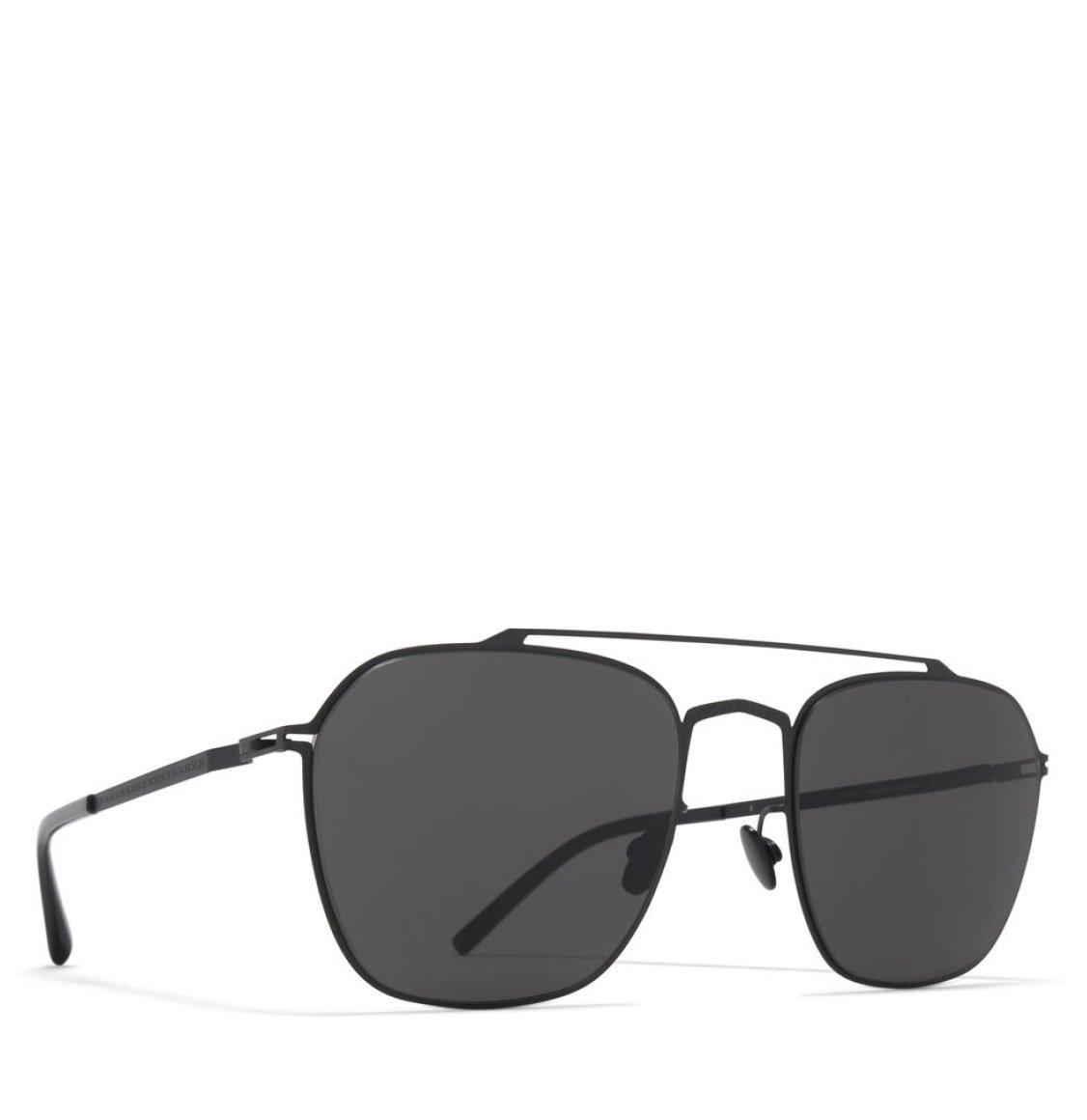 Mykita x Maison Martin Margiela Square Shape Black Sunglasses