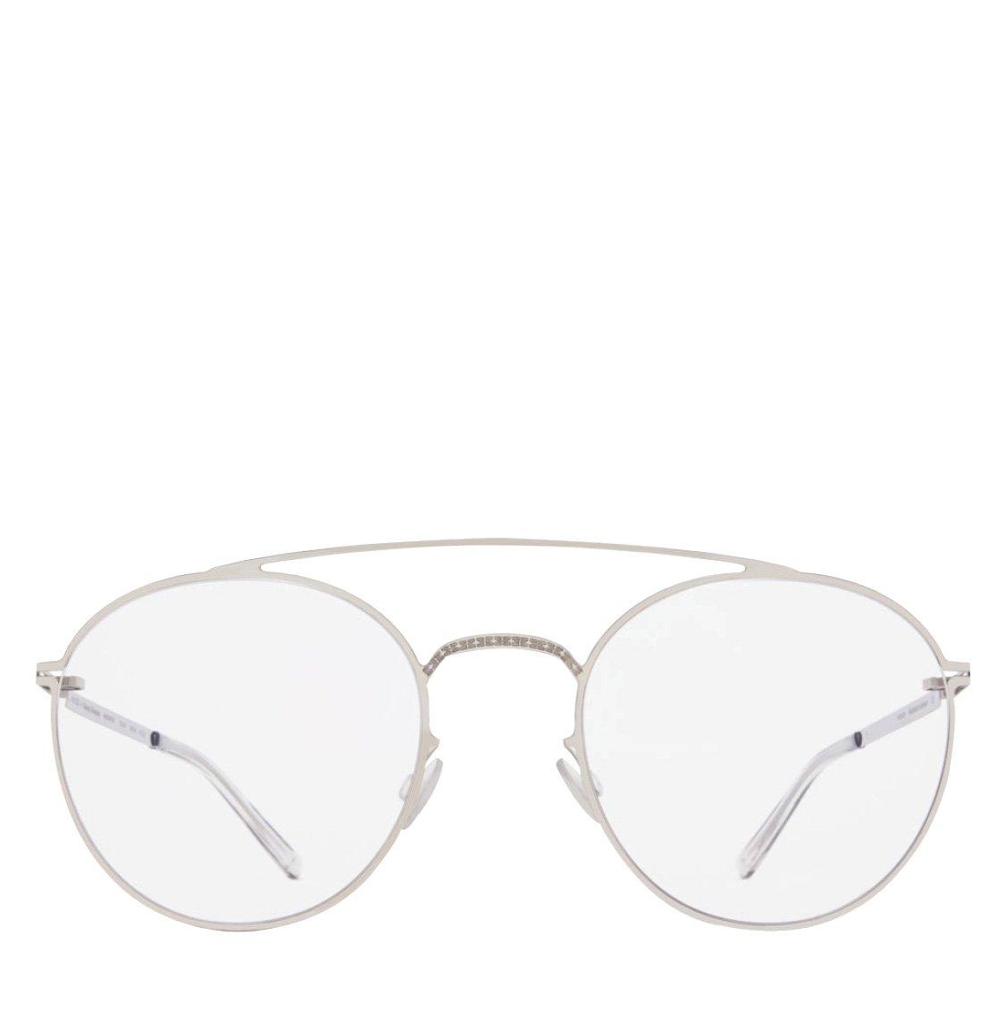 Mykita x Maison Martin Margiela Panto-Shaped Frame Silver Sunglasses