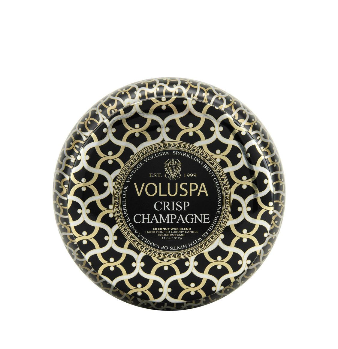 Voluspa Crisp Champagne 2 Wick Candle 312g