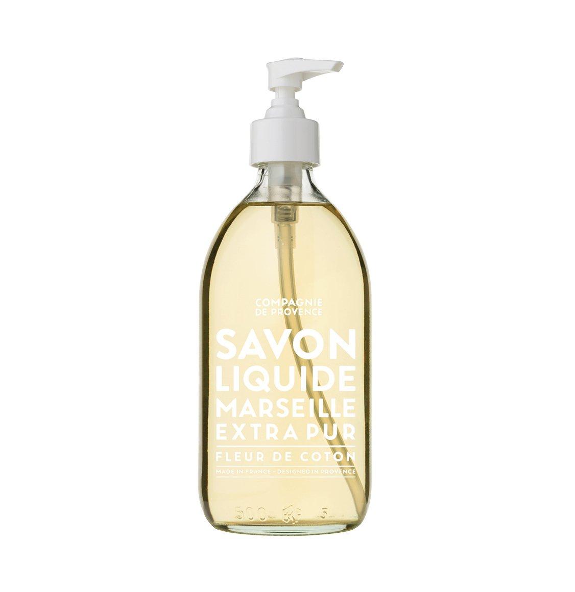 Compagnie De Provence Cotton Flower Liquid Marseille Soap 500ml
