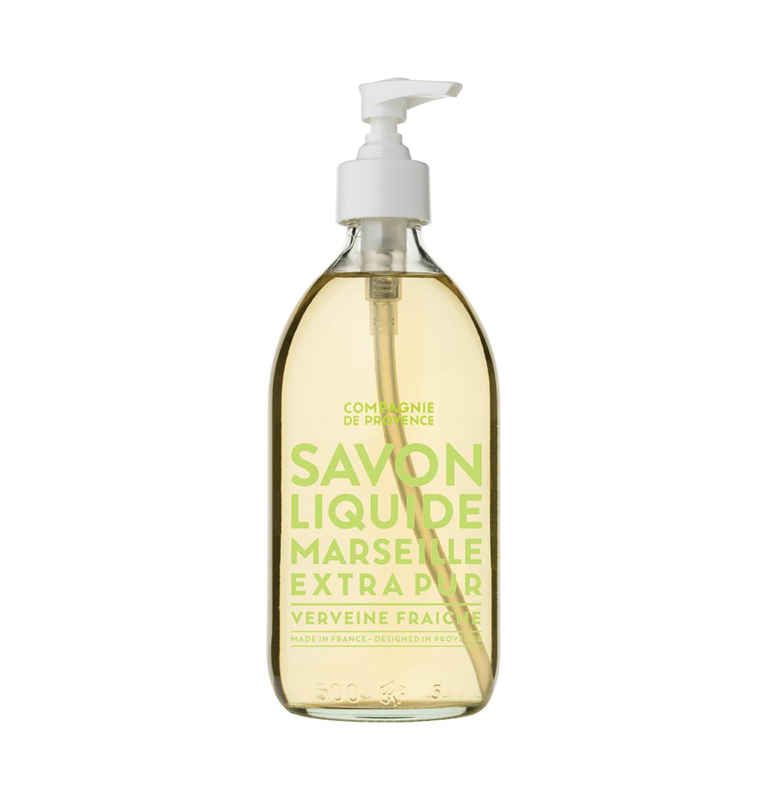 Compagnie De Provence Fresh Verbena Liquid Marseille Soap 500ml