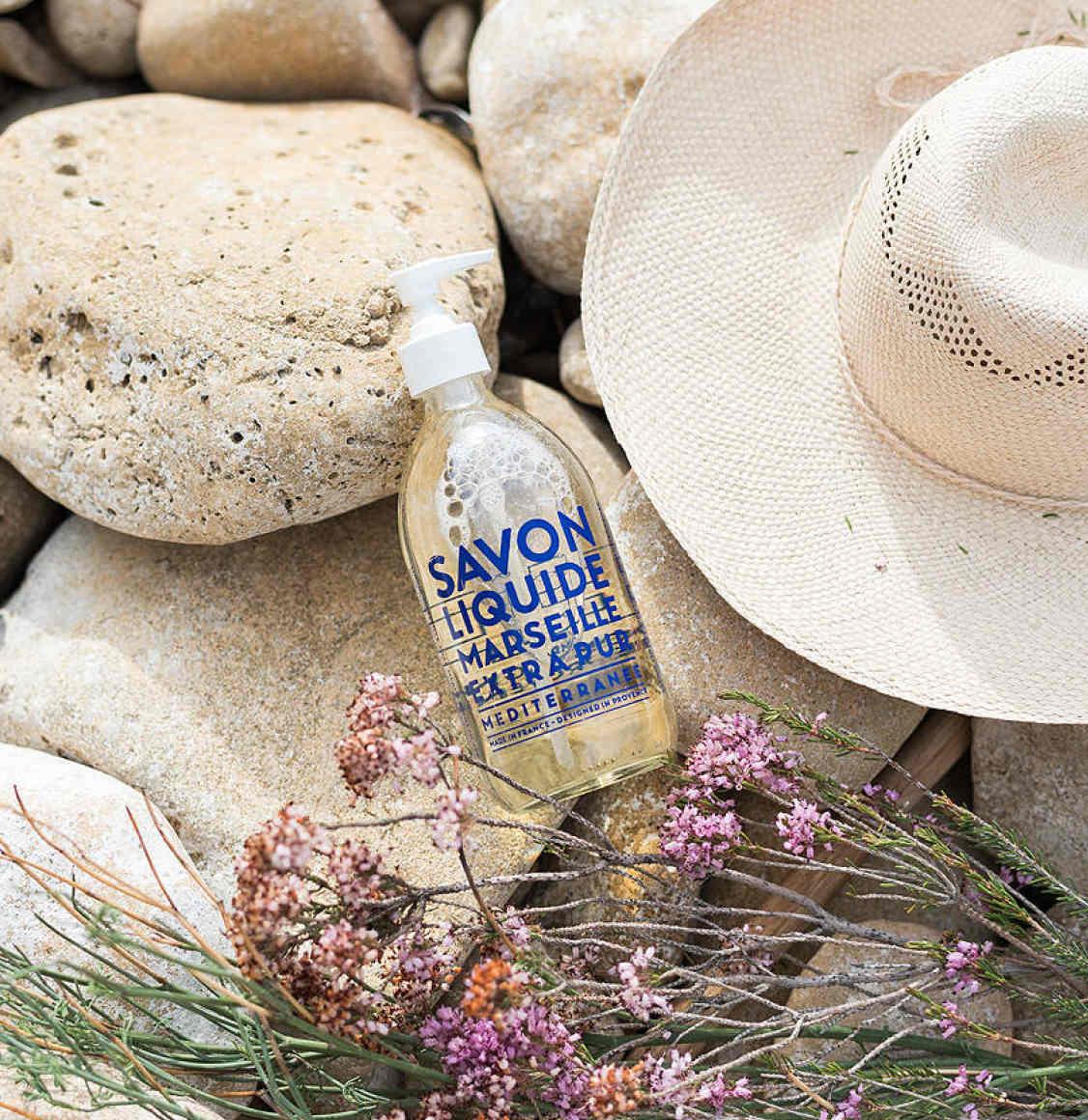 Compagnie De Provence Mediterranean Sea Liquid Marseille Soap 500ml