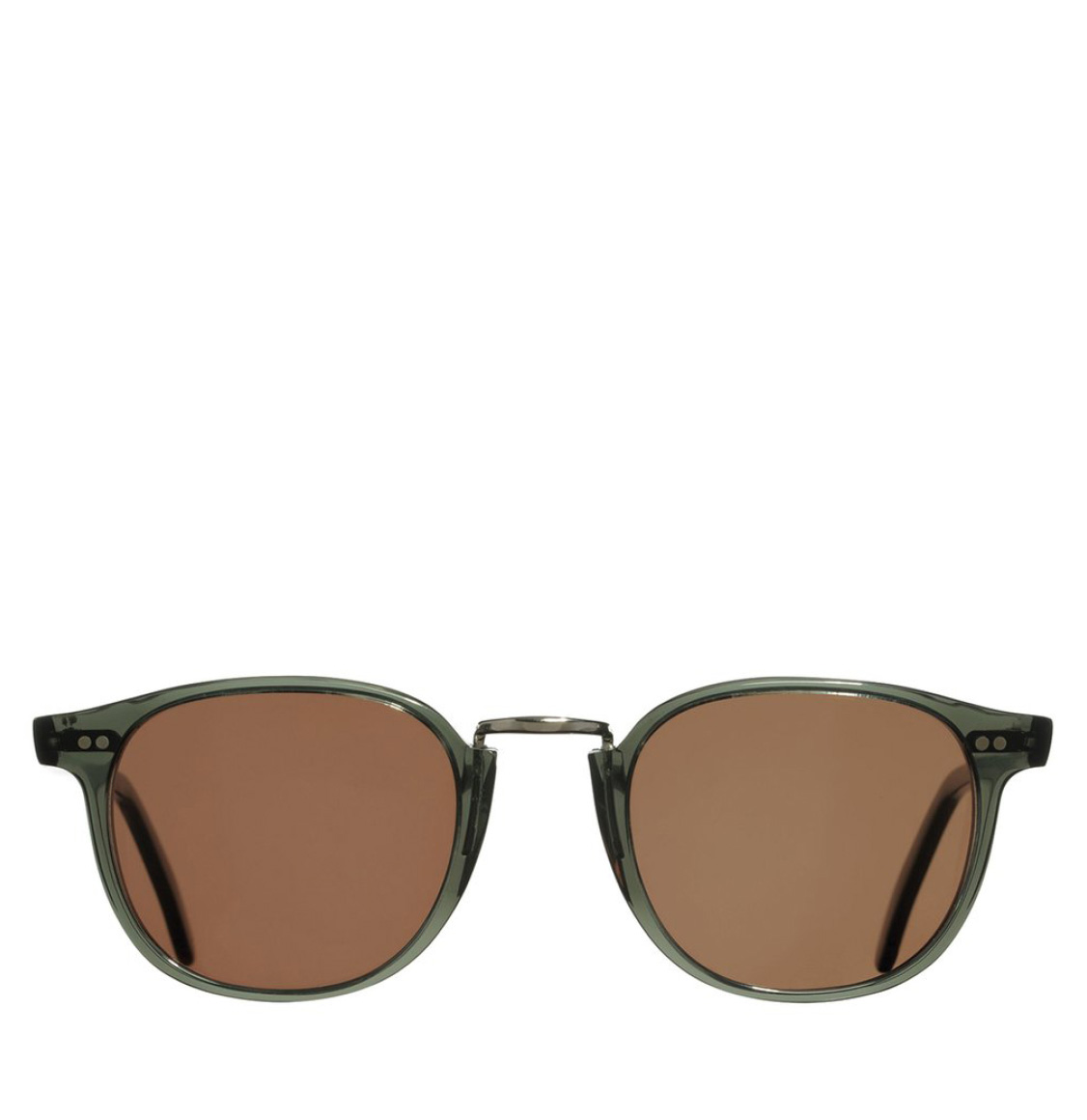 Cutler and Gross Round-Frame Aviator Blue Acetate Γυαλιά Ηλίου
