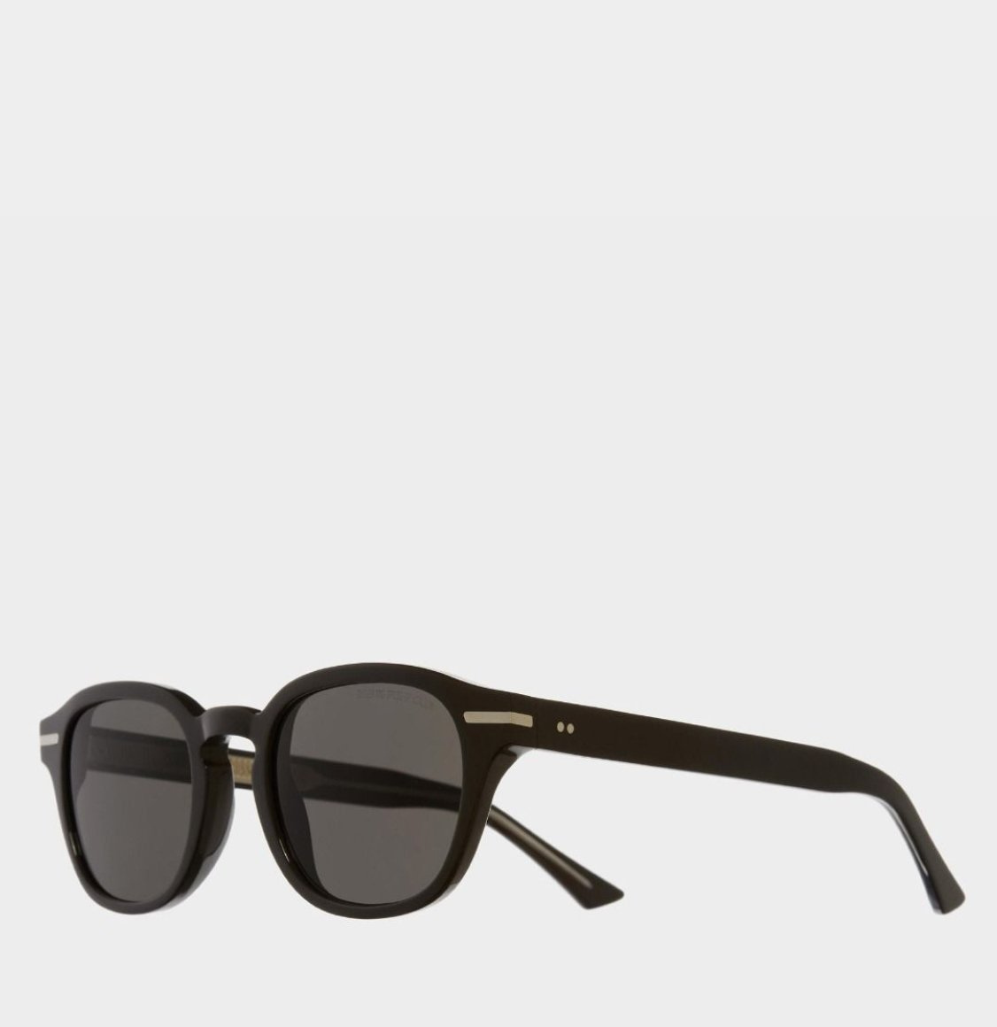 Cutler and Gross Round-Frame Black Taxi Acetate Γυαλιά Ηλίου