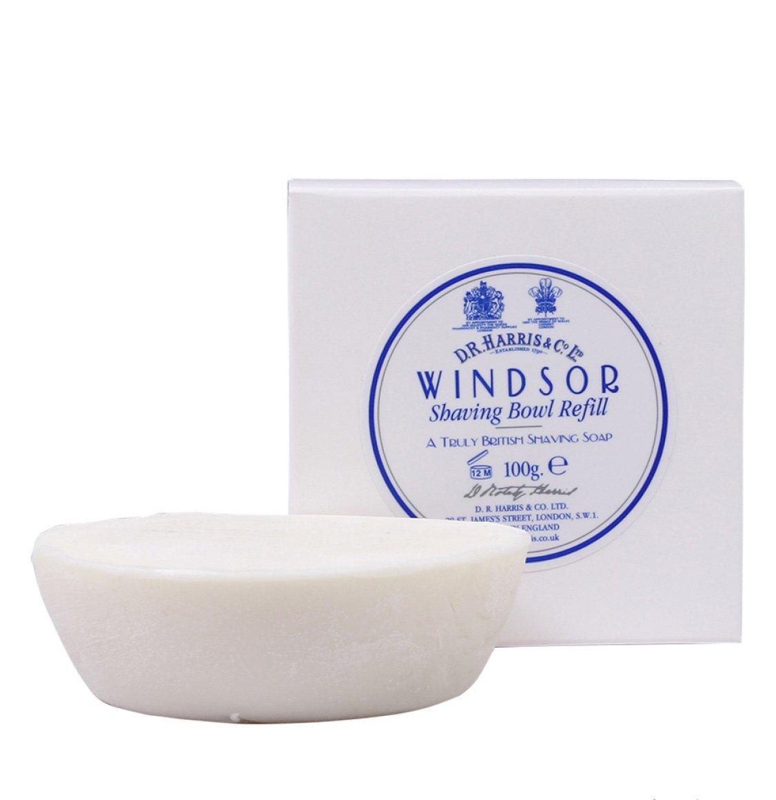 D R Harris Windsor Shaving Soap Refill 100g