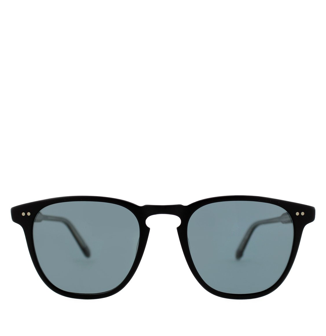 Garrett Leight Square Matt Black Γυαλιά Ηλίου
